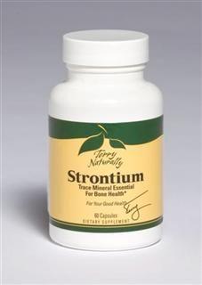 Strontium (60 capsules) Terry Naturally