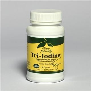 Tri-Iodine 6.25mg (90 capsule) Terry Naturally