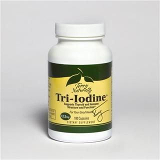 Tri-Iodine 12.5mg (180 capsules) Terry Naturally