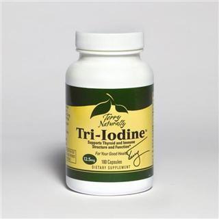 Tri-Iodine 12.5mg (180 capsules) EuroPharma