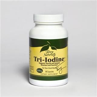 Tri-Iodine 12.5mg (90 capsule) Terry Naturally