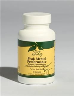 Peak Mental Performance (60 capsules) Terry Naturally