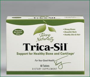 Bone-Sil (Trica-Sil) (60 tablets) Terry Naturally