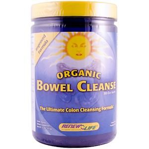 Organic Bowel Cleanse powder (13.3 oz)* Renew Life