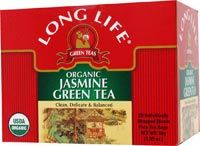 Organic Jasmine Green Tea Long Life Tea