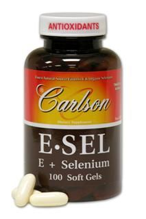 E-Sel 400IU (100 soft gels) Carlson Labs