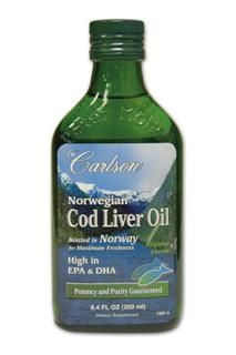 Cod Liver Oil | Natural Flavor (250mL) Carlson Labs