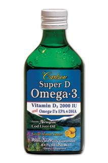 Super D Omega-3 (8.4 oz) Carlson Labs