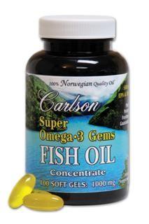Super Omega-3 Gems (360 Soft Gel) Carlson Labs