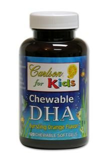 Kids Chewable DHA (120 soft gels) Carlson Labs