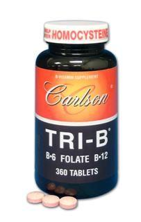Tri-B     (360 tablets) Carlson Labs