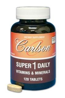 Super-1-Daily(120 tablets) Carlson Labs