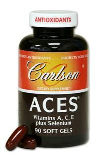 ACES (90 soft gels) Carlson Labs