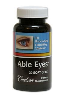 Able Eyes (30 soft gels) Carlson Labs
