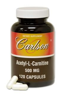 Acetyl L-Carnitine Caps 500 mg (120 Capsule)* Carlson Labs