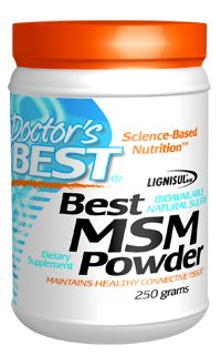Best MSM Powder (250 grams) Doctor's Best