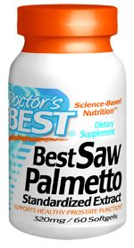 Best Saw Palmetto Extract (320 mg 60 softgels) Doctor's Best