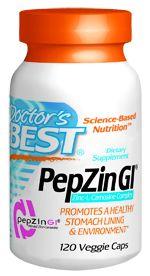PepZin GI (37.5 mg 120 vegi capsules) Doctor's Best