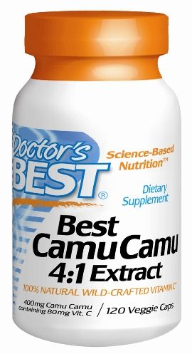 Best Camu Camu (400 mg  120 vegi capsules) Doctor's Best