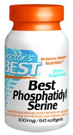 Best Phosphatidyl Serine (100 mg 60 softgels) Doctor's Best