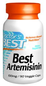 Best Artemisinin (100 mg 90 vegi capsules) Doctor's Best