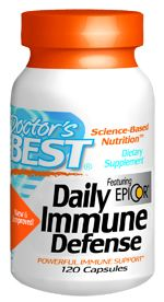 Daily Immune Defense (120 capsules) Doctor's Best