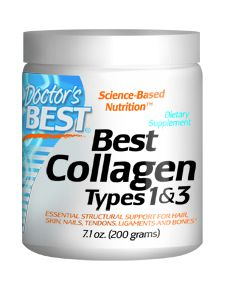 Best Collagen Types 1 & 3 Powder (200 gr) Doctor's Best