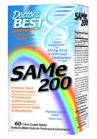 SAM-e (200 mg 60 tablets) Doctor's Best