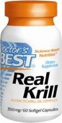 Real Krill 350mg (60 softgels) Doctor's Best