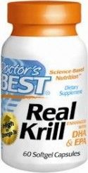 Best Real Krill Oil (60 softgels) | Enhanced with DHA & EPA Doctor's Best