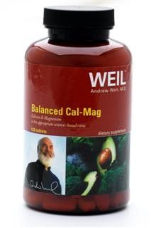Balanced Cal-Mag by Dr. Weil (120 Tab) Weil Nutritional Supplements