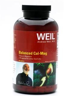 Balanced Cal-Mag by Dr. Weil (240 Tab) Weil Nutritional Supplements