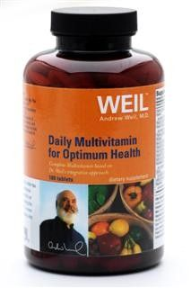 Daily Multi Optimum Health by Dr. Weil (180 tabs) Weil Nutritional Supplements