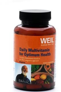 Daily Multi Optimum Health by Dr. Weil (90 tabs) Weil Nutritional Supplements