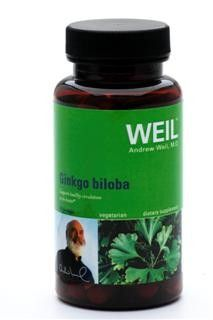 Ginkgo Biloba by Dr. Weil (90 capsules) Weil Nutritional Supplements