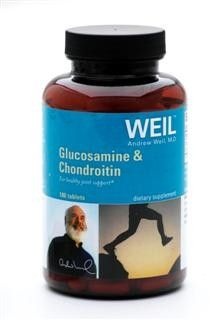 Glucosamine & Chondroitin by Dr. Weil (180 tabs) Weil Nutritional Supplements