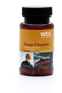 Omega-3 Complex by Dr. Weil (30 softgels) Weil Nutritional Supplements