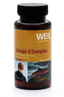 Omega-3 Complex by Dr. Weil (60 softgels) Weil Nutritional Supplements