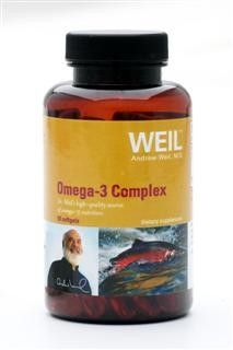 Omega-3 Complex by Dr. Weil (90 softgels) Weil Nutritional Supplements