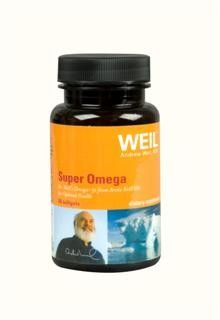 Super Omega by Dr. Weil (60 softgels) Weil Nutritional Supplements