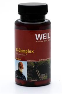 Vitamin B Complex by Dr. Weil (90 tabs) Weil Nutritional Supplements