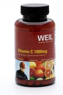Vitamin C 1000 Mg by Dr. Weil (90 tabs) Weil Nutritional Supplements