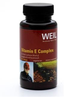 Vitamin E Complex by Dr. Weil (60 liquid vcap) Weil Nutritional Supplements