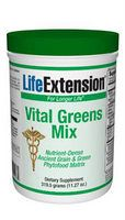Vital Greens Mix 319.5 grams (11.27oz)* Life Extension