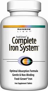 Complete Iron System (60 tablets)* Rainbow Light