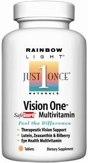 Vision One Multi (60 tablets)* Rainbow Light