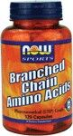 Branched Chain Amino Acids (120 Caps) NOW Foods