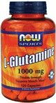 L-Glutamine 1000 mg (120 Caps) NOW Foods