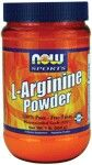 L-Arginine Powder (1 lb.) NOW Foods