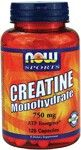 Creatine Monohydrate 750 mg (120 Caps) NOW Foods